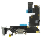 Dockconnector Flexkabel zwart iPhone 6s Plus